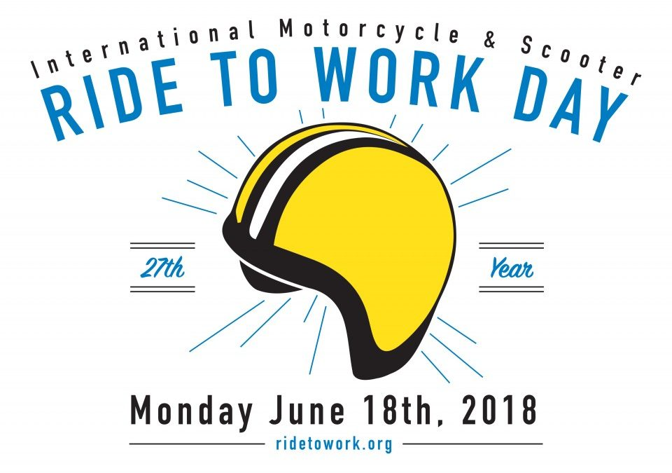 International Ride to Work Day – June 18th